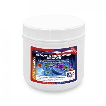 Bloom & Condition Powder 908g - integratore per la salute del cavallo