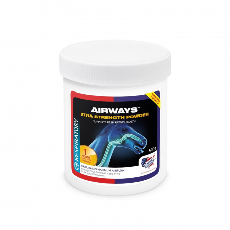 Airways Xtra Strenght Powder 500g - integratore per apparato respiratorio cavalli
