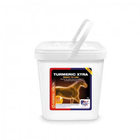 Turmeric Xtra Powder 3kg Premium Quality- integratore per la salute del cavallo